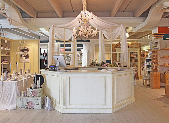 interno negozio Ninfea